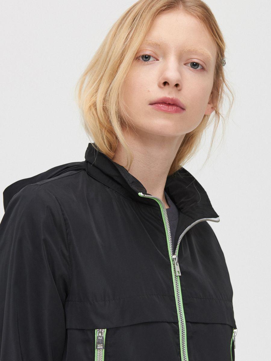 Lightweight rain jacket - SCHWARZ - XL598-99X - Cropp - 3