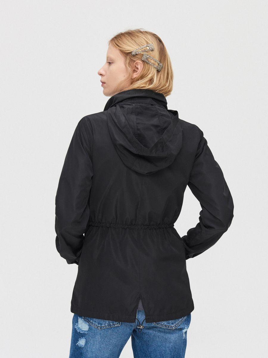 Lightweight rain jacket - SCHWARZ - XL598-99X - Cropp - 5