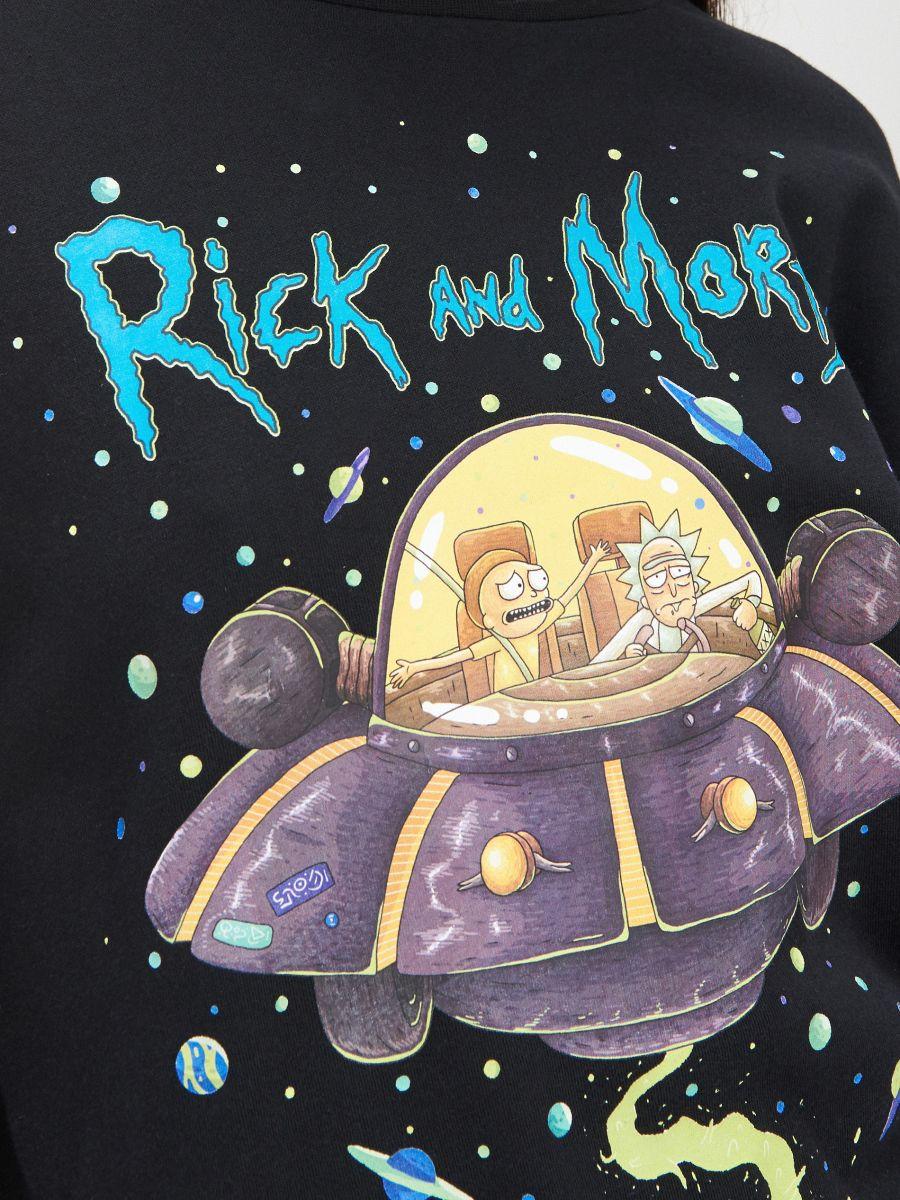 Rick&Morty pyjama set - SCHWARZ - XO447-99X - Cropp - 4