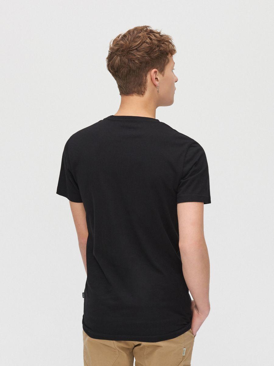 City motif T-shirt - SCHWARZ - XZ394-99X - Cropp - 4