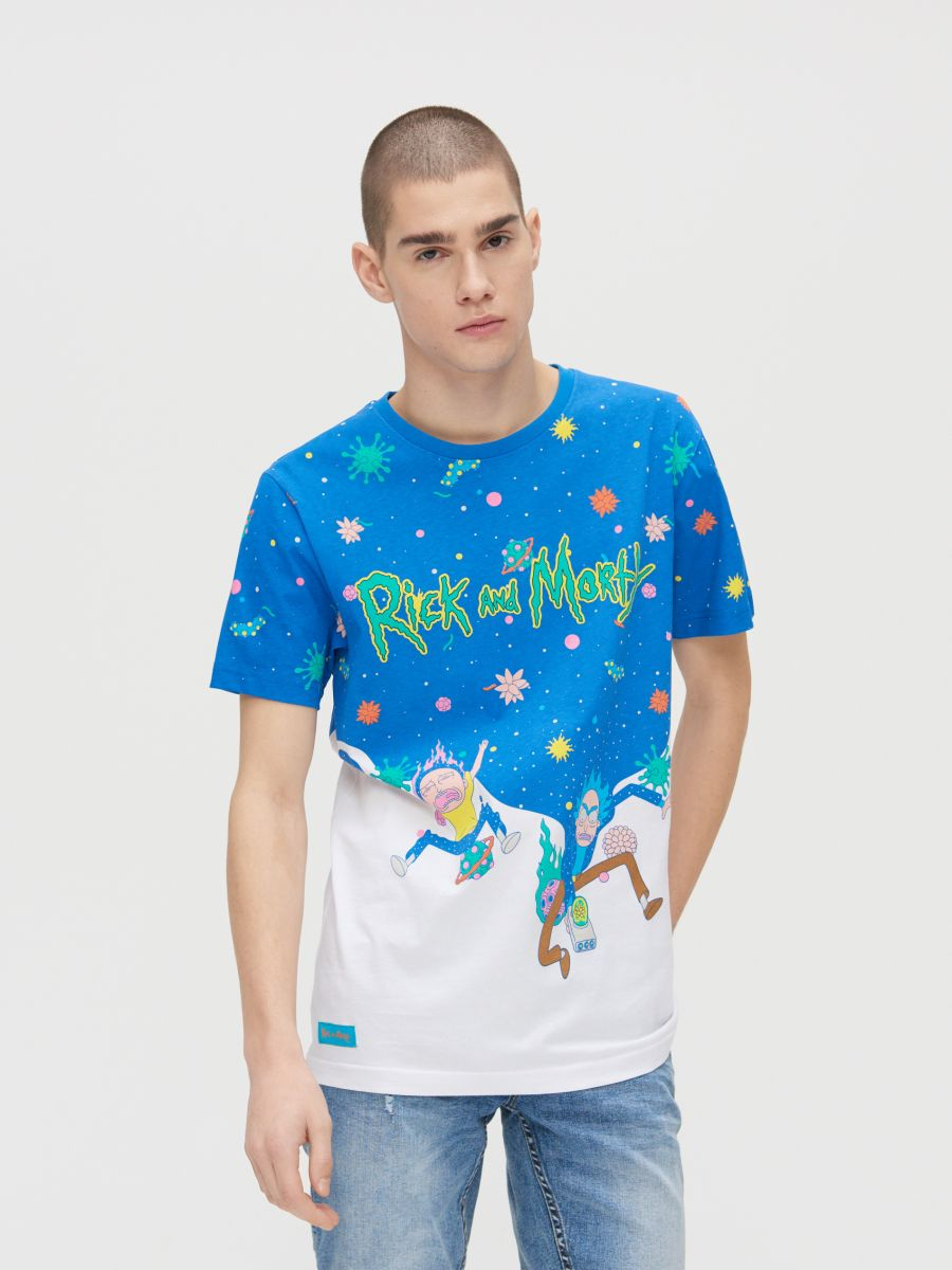 Rick and Morty T-shirt - WEIß - ZJ011-00X - Cropp - 1