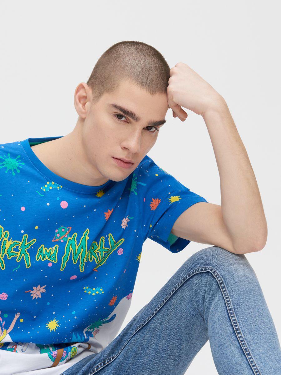 Rick and Morty T-shirt - WEIß - ZJ011-00X - Cropp - 2