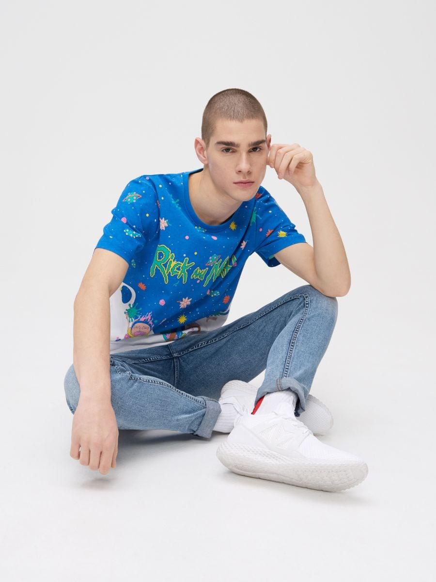 Rick and Morty T-shirt - WEIß - ZJ011-00X - Cropp - 3