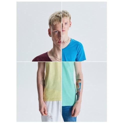 Basic plain T-shirt