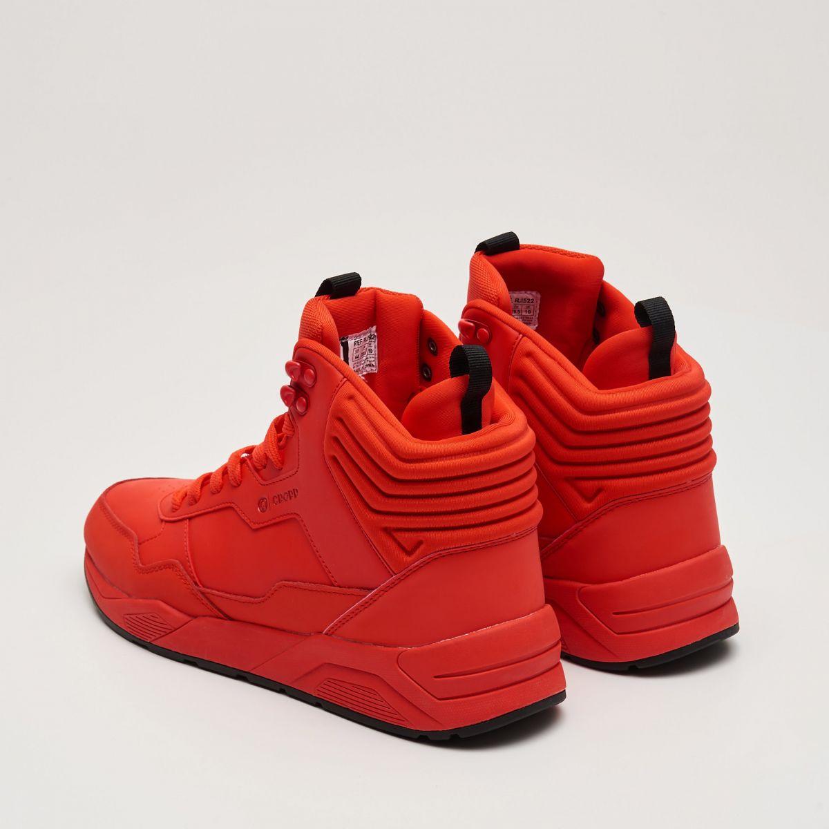 buty cropp męskie czerwone do kostek
