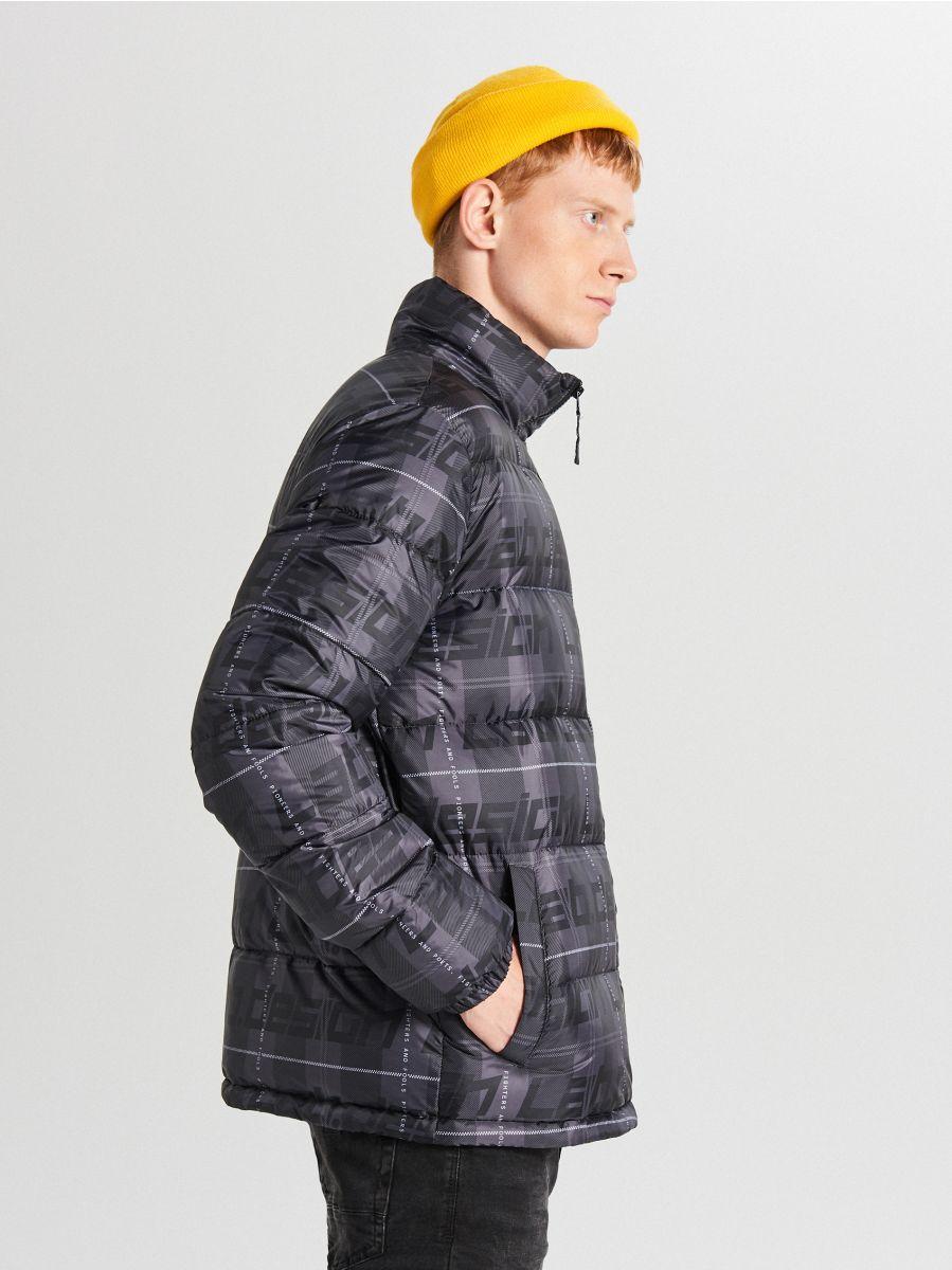 Pikowana kurtka z nadrukiem, CROPP