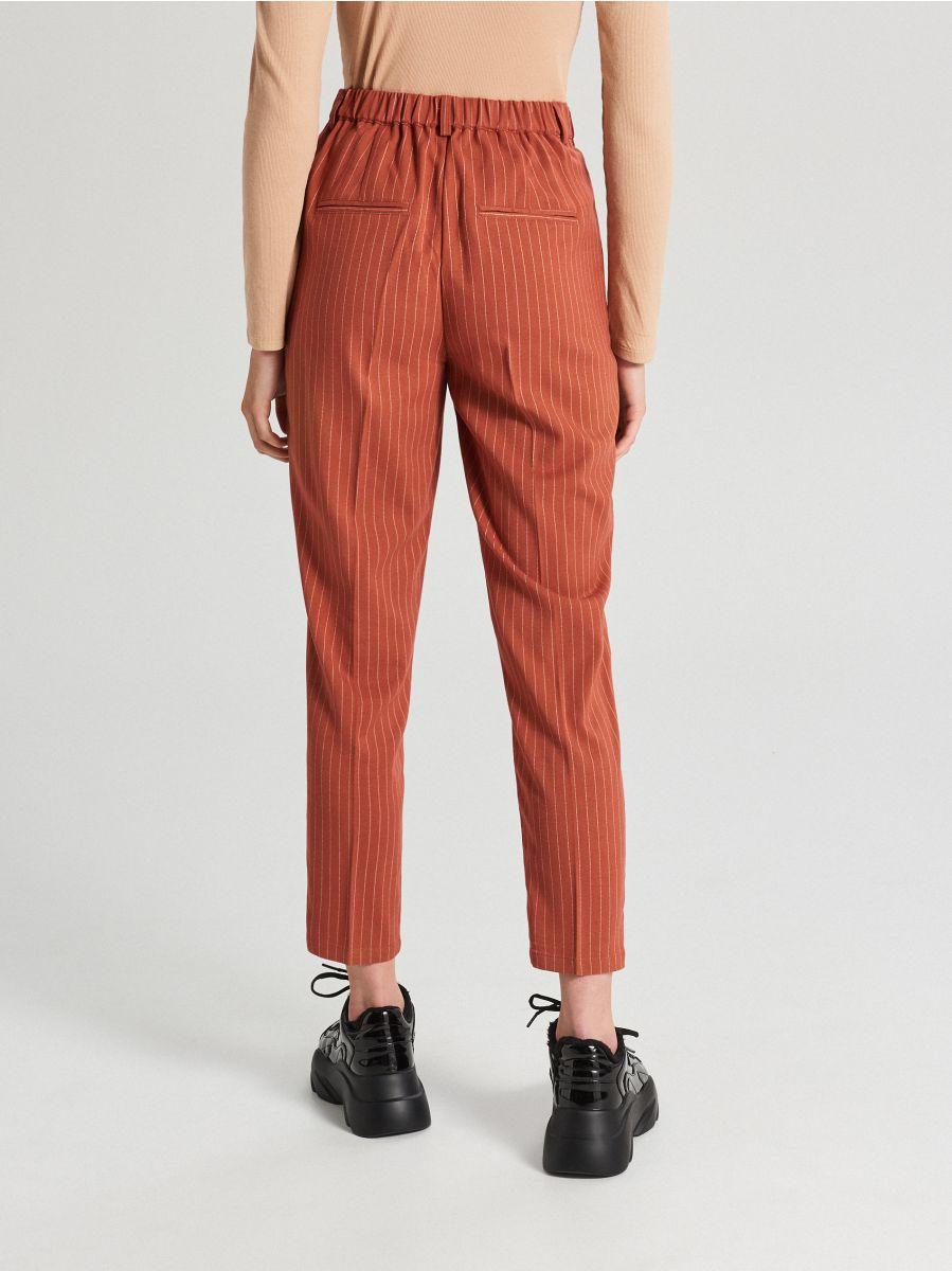 Spodnie chino - BRĄZOWY - WS549-88X - Cropp - 4