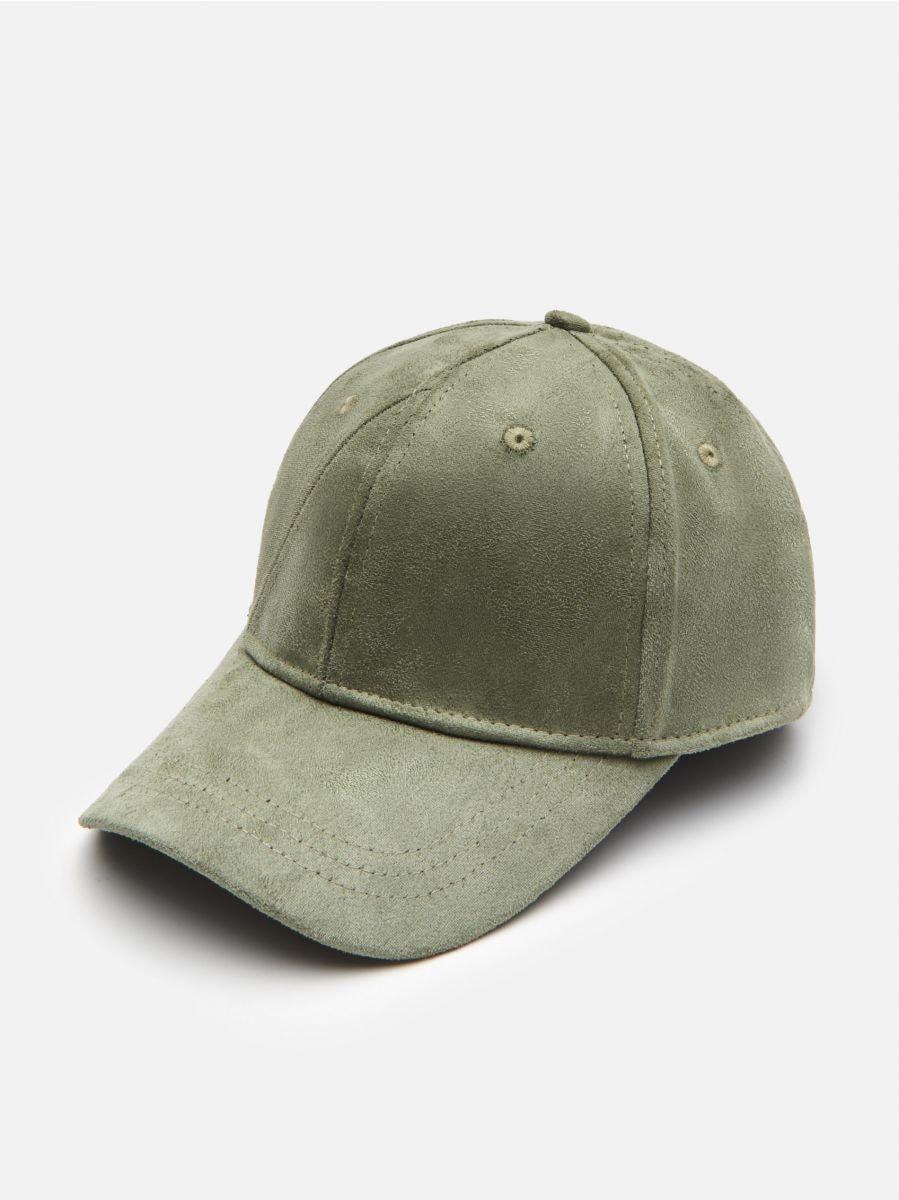 Zamszowa czapka z daszkiem, CROPP