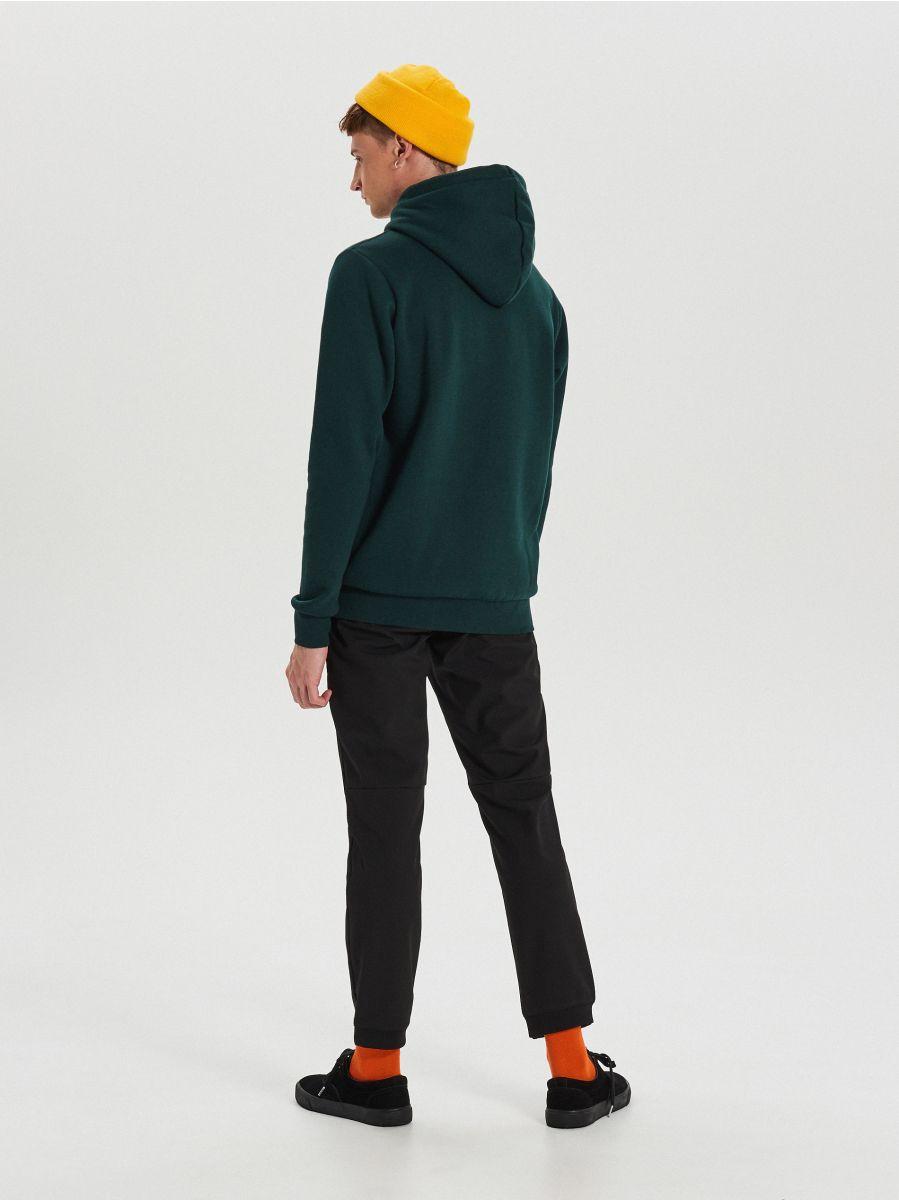 Bluza z haftem - KHAKI - XN986-79X - Cropp - 5
