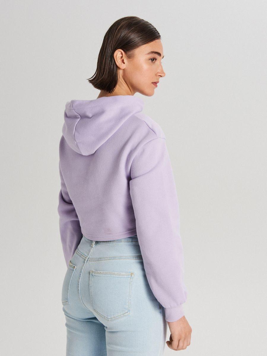 Krótka bluza z kapturem, CROPP