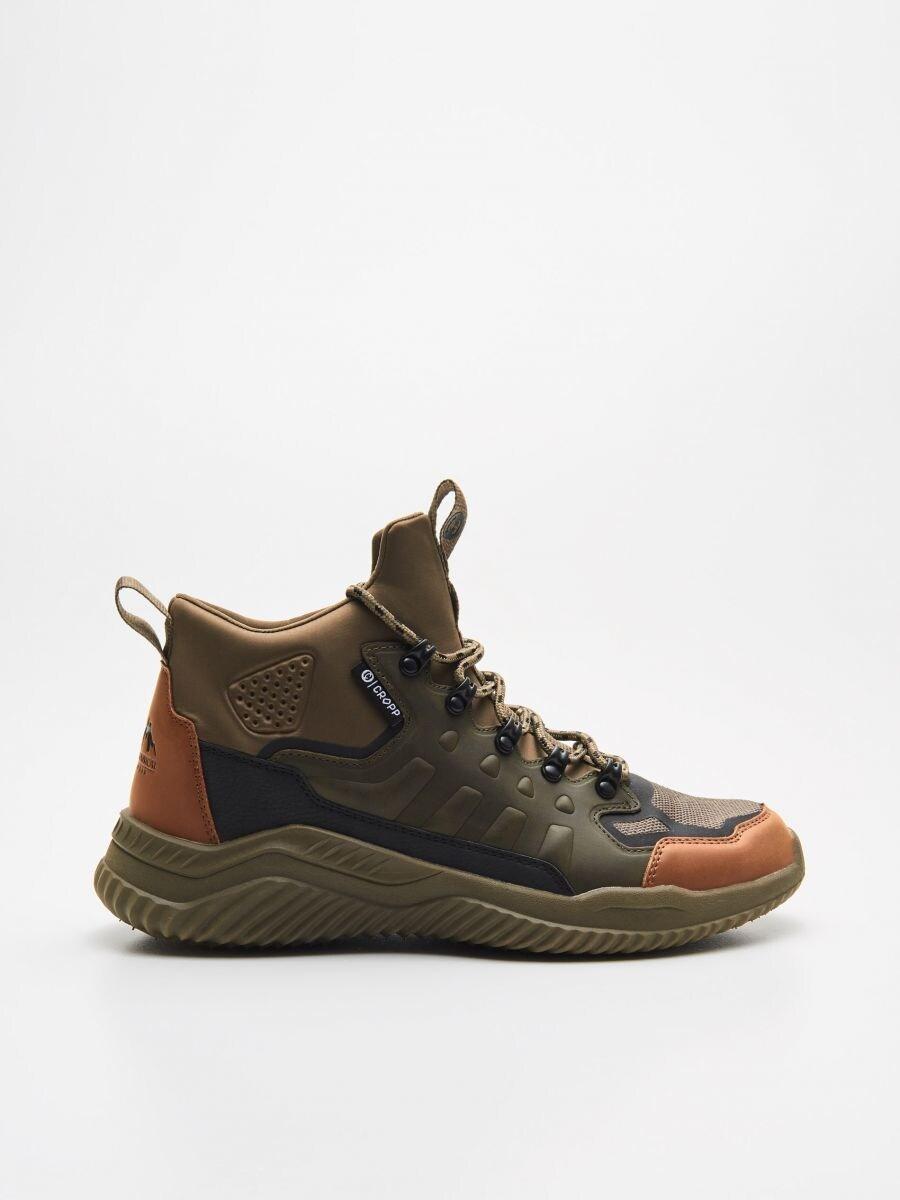 Wysokie sneakersy - KHAKI - WN937-87X - Cropp - 1