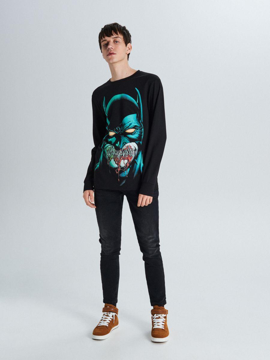 Koszulka Batman - CZARNY - WU707-99X - Cropp - 1
