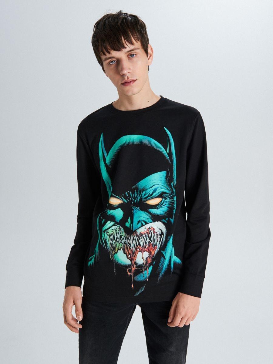 Koszulka Batman - CZARNY - WU707-99X - Cropp - 3