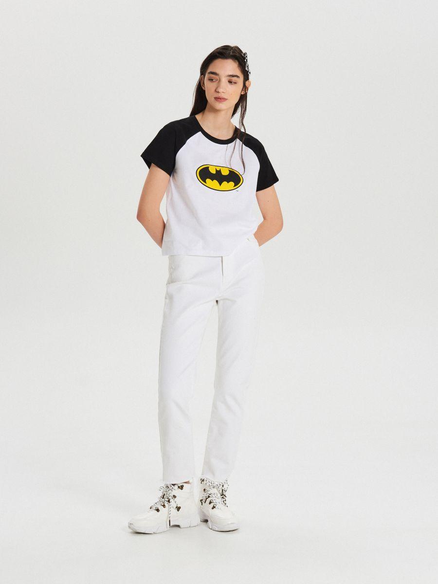 Koszulka Batman - BIAŁY - XC518-00X - Cropp - 2