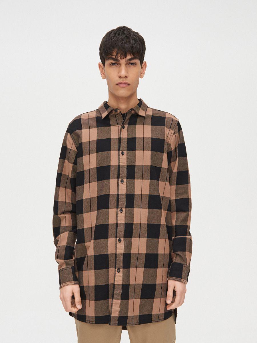Długa koszula  - ŻÓŁTY - XR129-18X - Cropp - 3