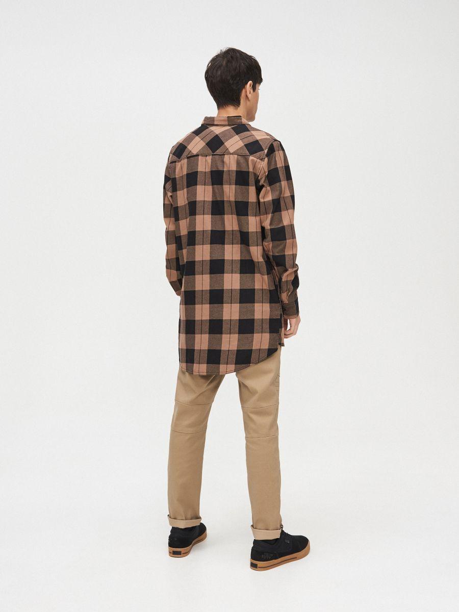 Długa koszula  - ŻÓŁTY - XR129-18X - Cropp - 5