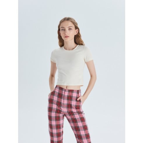 Krótka koszulka basic