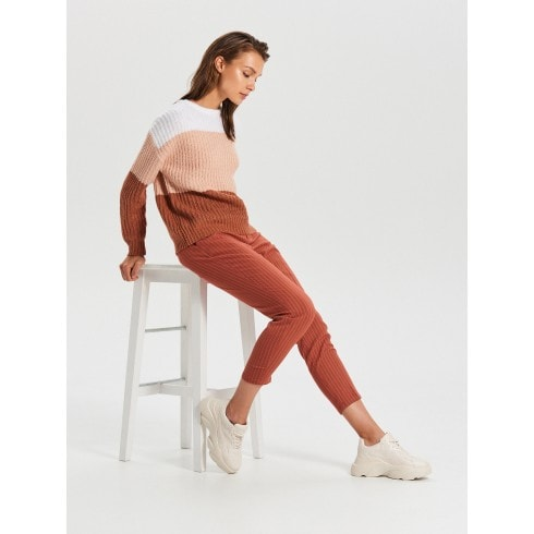 Kolorowy sweter