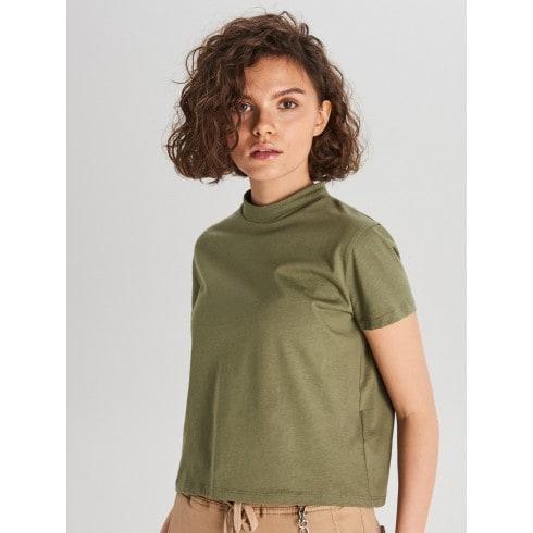 Koszulka basic turtle neck