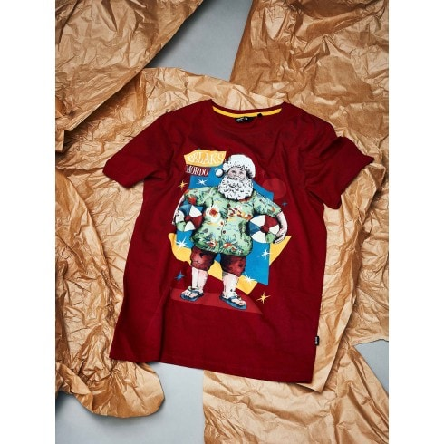 Koszulka ze świątecznym nadrukiem