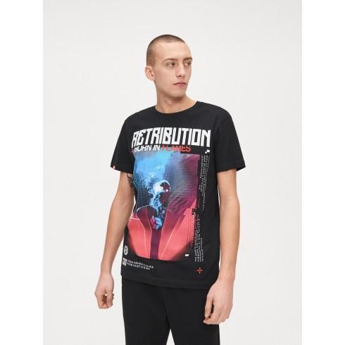 Koszulka z nadrukiem retribution