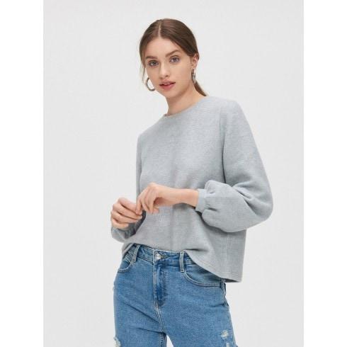 Miękki sweter basic