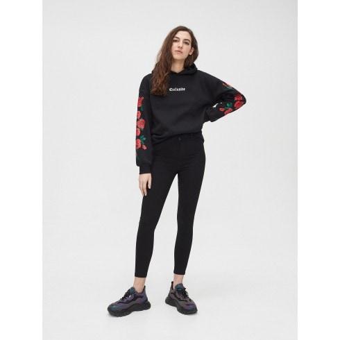 Spodnie high waist