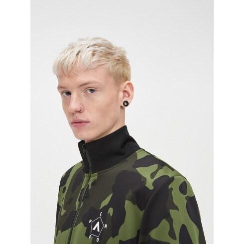 Bluza z wysokim kołnierzem