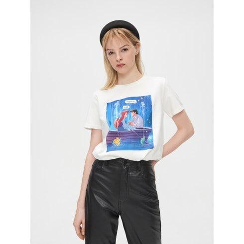 Koszulka z Małą Syrenką