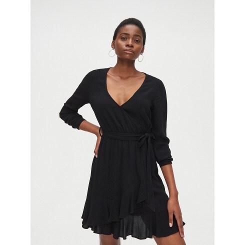 Kopertowa sukienka z wiskozy