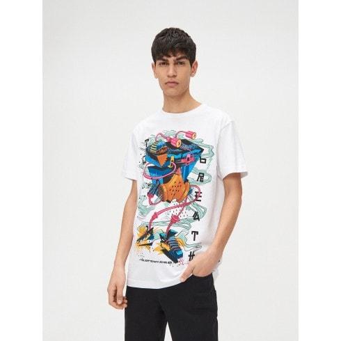 Koszulka z water printem