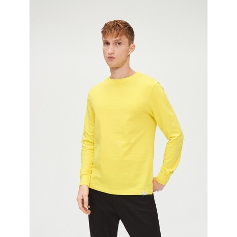 Koszulka basic gładka z długim rękawem
