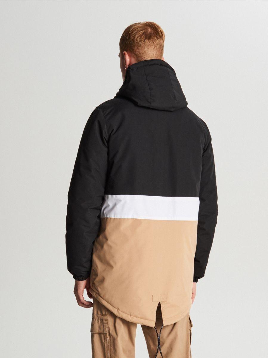Куртка с капюшоном - черный - VB127-99X - Cropp - 5