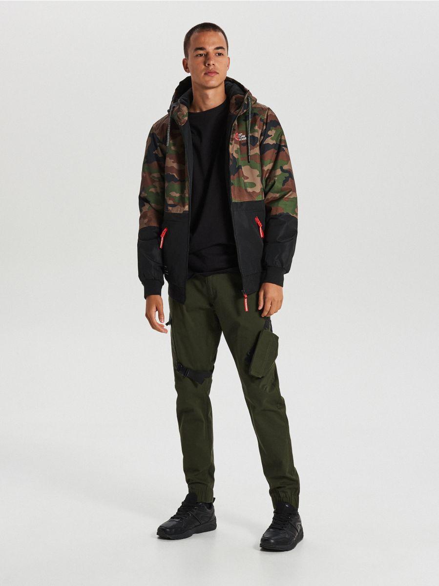 Куртка с капюшоном - хаки - VW266-87X - Cropp - 1