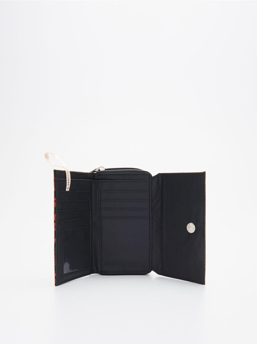 Бумажник - красный - WR032-33X - Cropp - 2