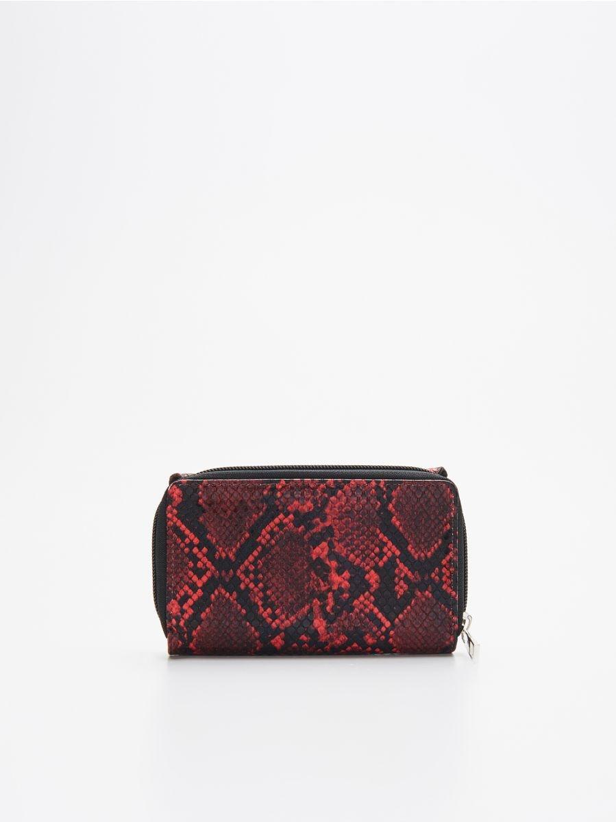 Бумажник - красный - WR032-33X - Cropp - 3