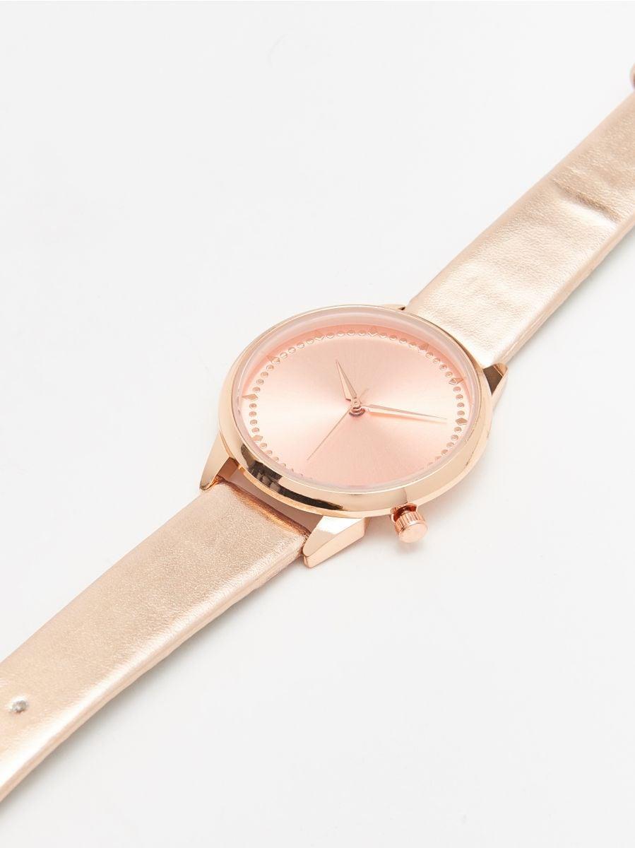 Часы - золотой - XA369-GLD - Cropp - 2