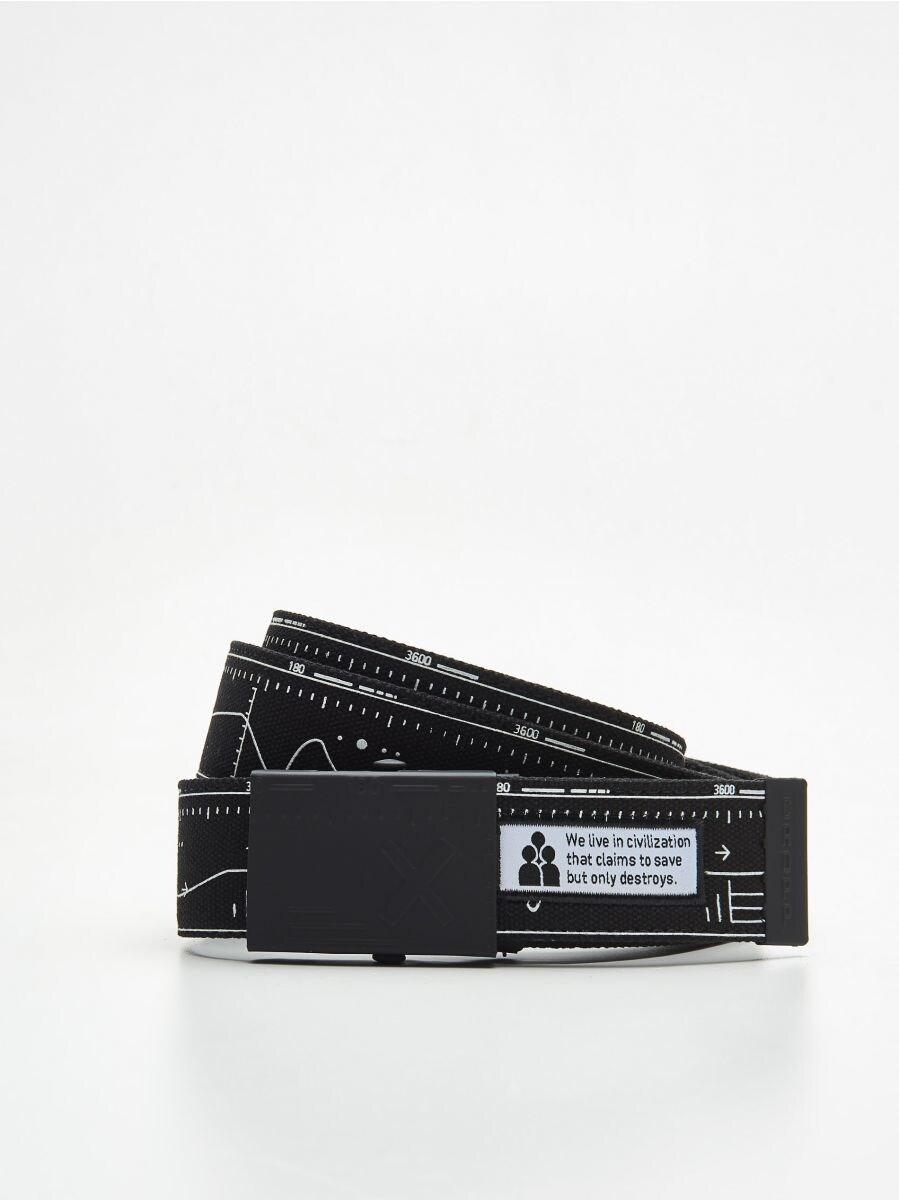 Ремень с металлической пряжкой - белый - XX377-00X - Cropp - 1
