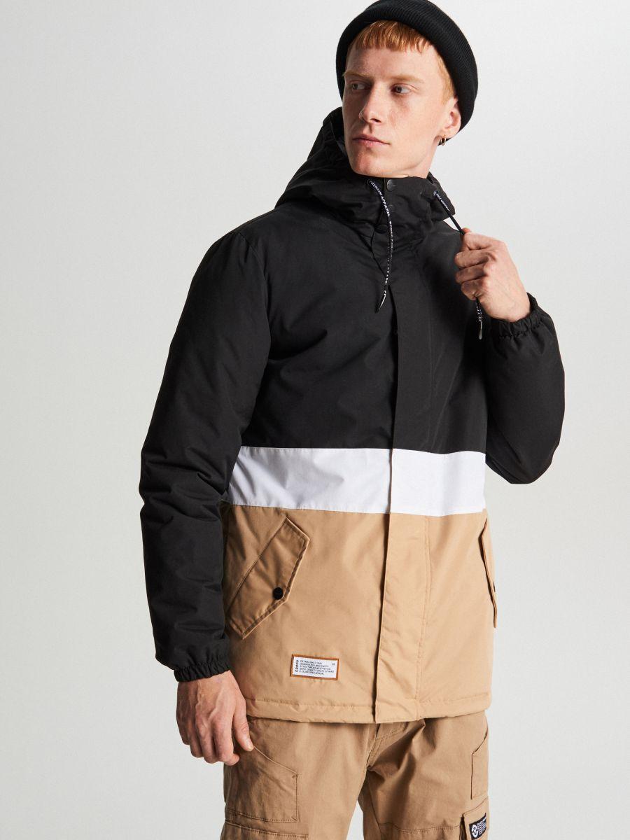 Куртка с капюшоном - черный - VB127-99X - Cropp - 2