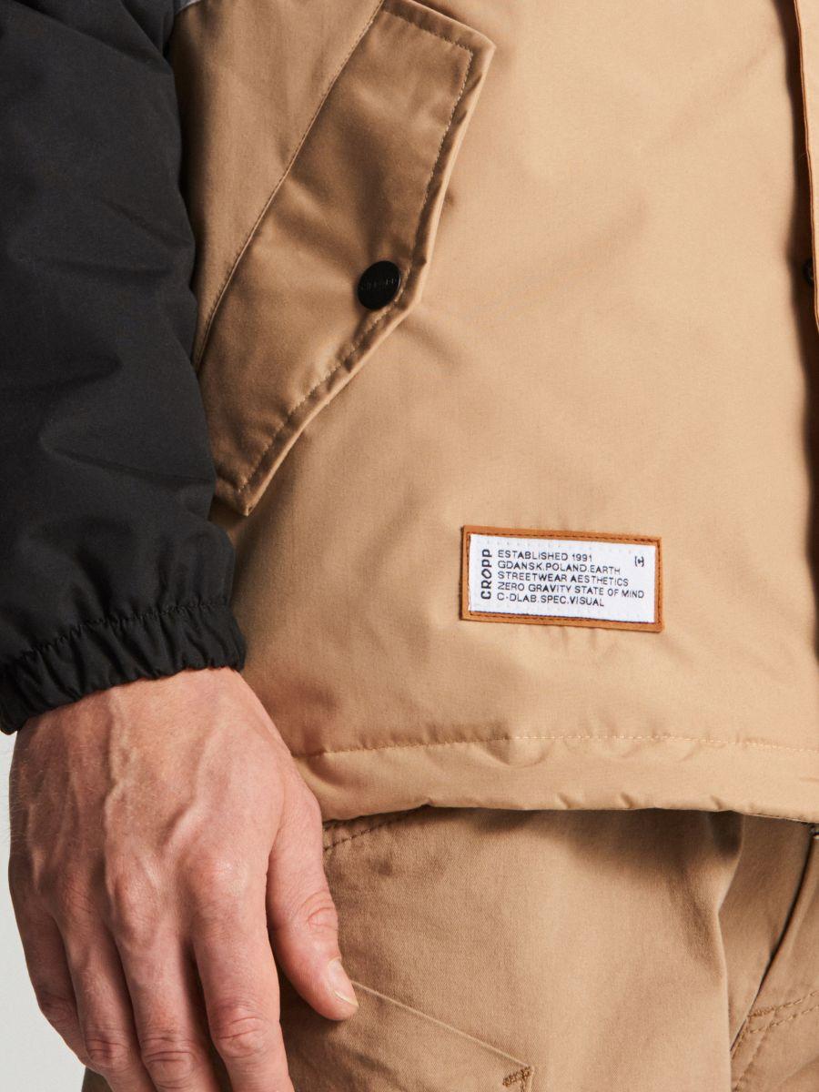 Куртка с капюшоном - черный - VB127-99X - Cropp - 3