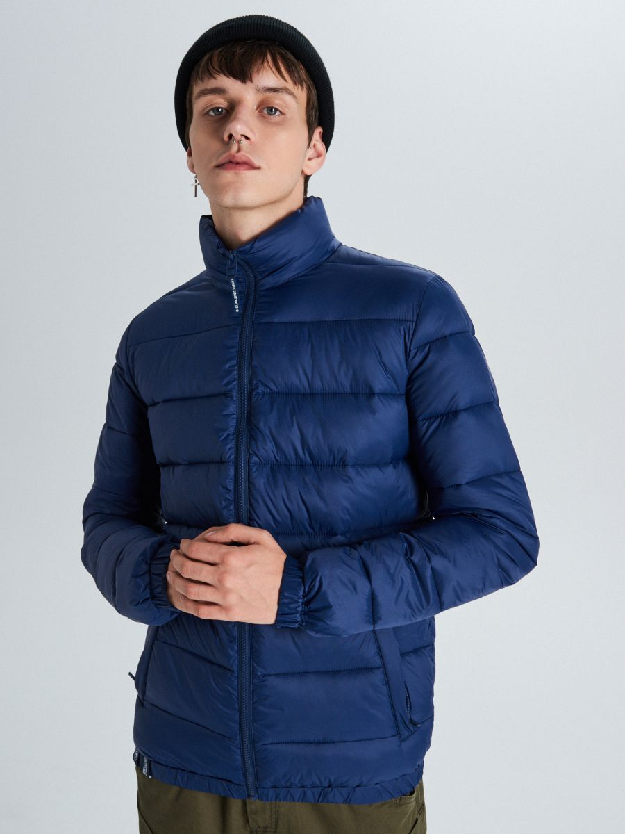 Стеганая куртка - темно-синий - VB156-59X - Cropp - 2