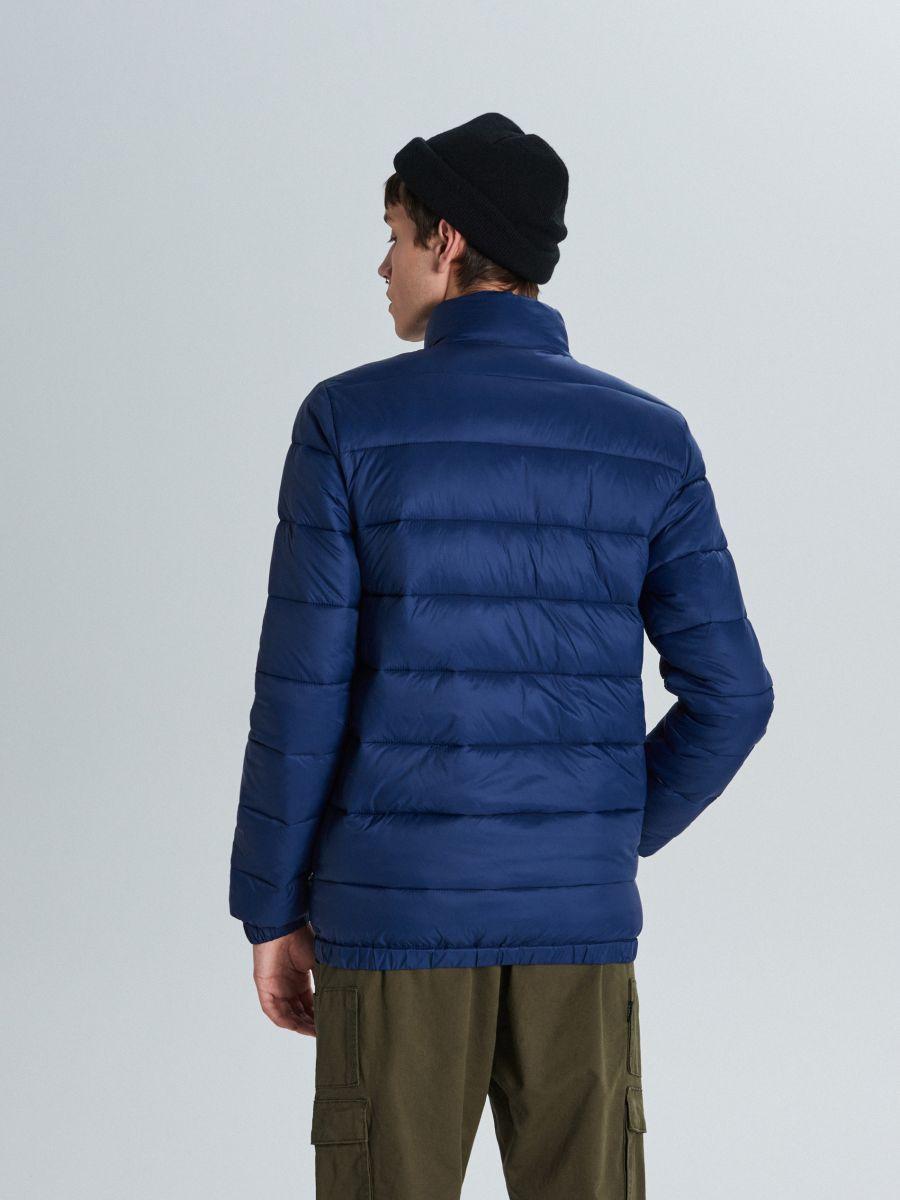 Стеганая куртка - темно-синий - VB156-59X - Cropp - 5