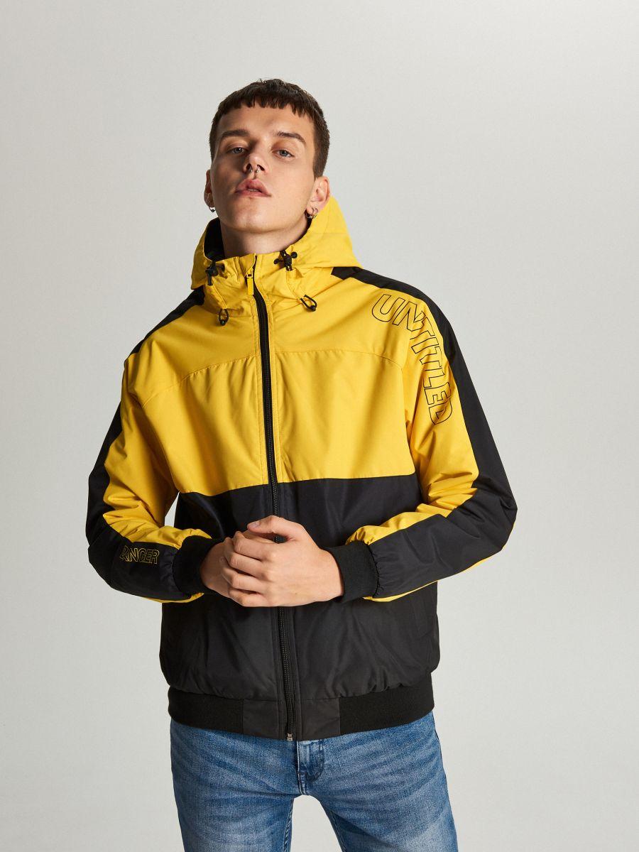 Легкая куртка с капюшоном - желтый - VW259-11X - Cropp - 2