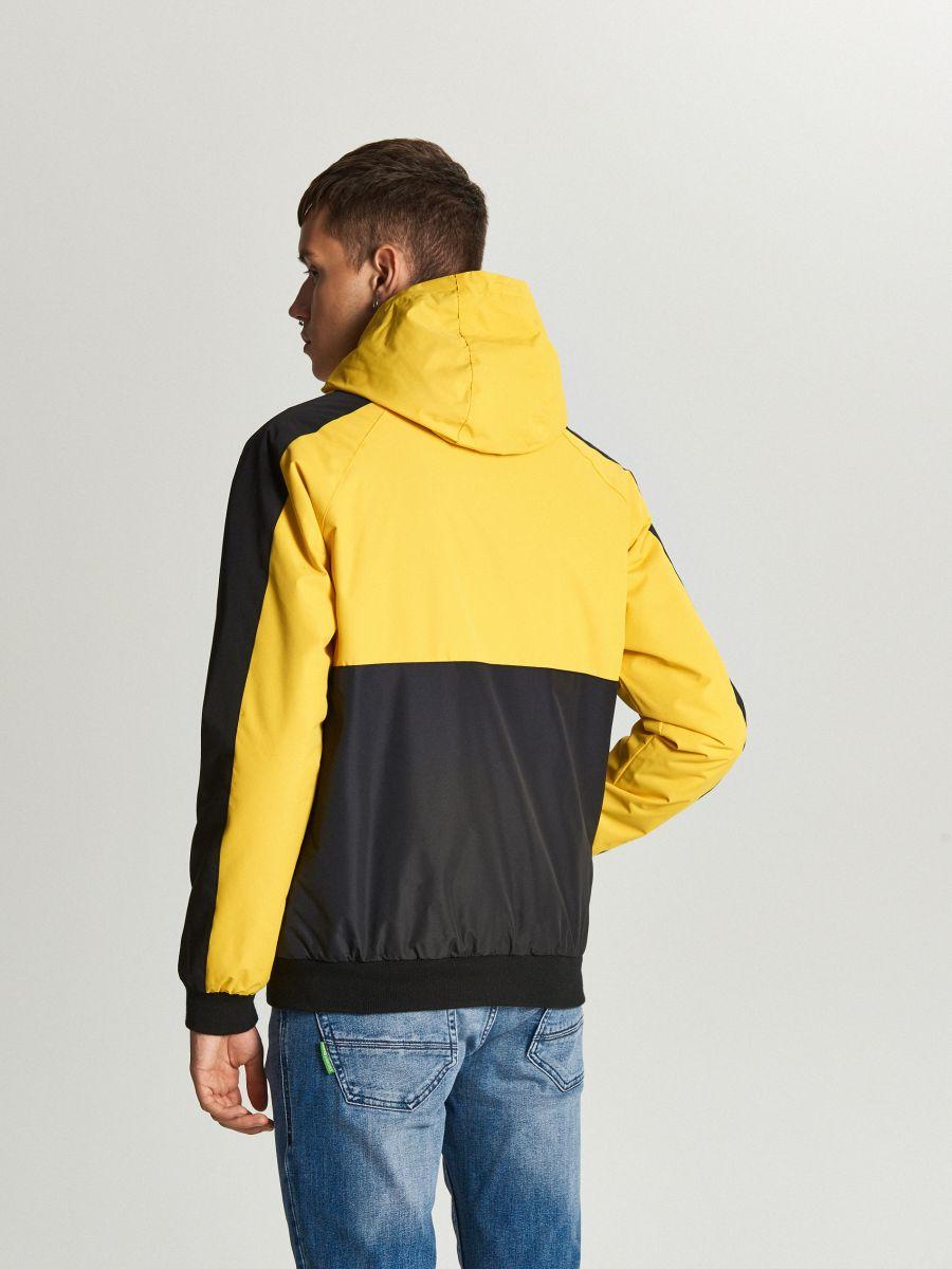 Легкая куртка с капюшоном - желтый - VW259-11X - Cropp - 3
