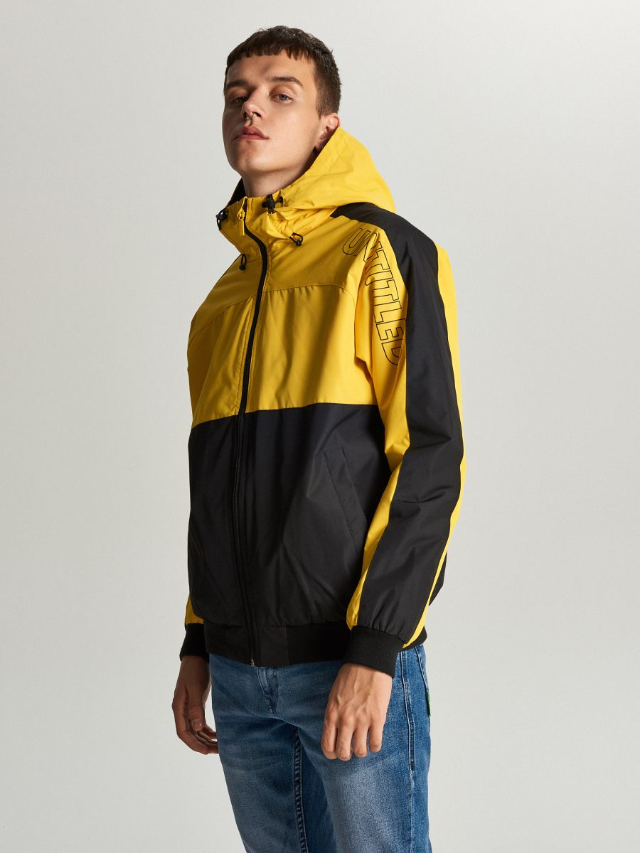 Легкая куртка с капюшоном - желтый - VW259-11X - Cropp - 4