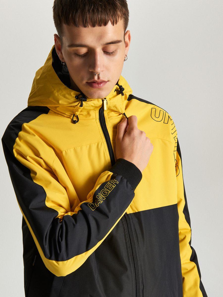 Легкая куртка с капюшоном - желтый - VW259-11X - Cropp - 5
