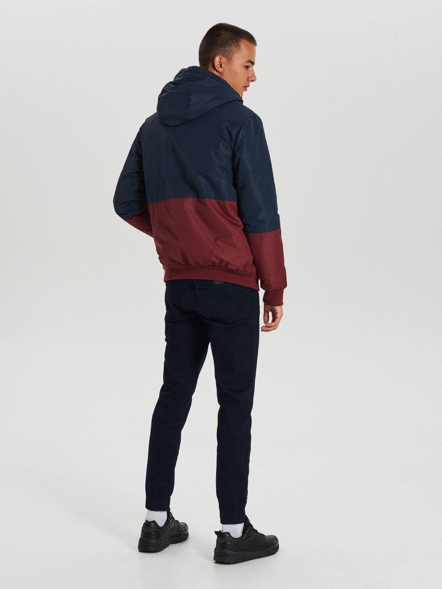 Куртка с капюшоном - темно-синий - VW266-59X - Cropp - 5