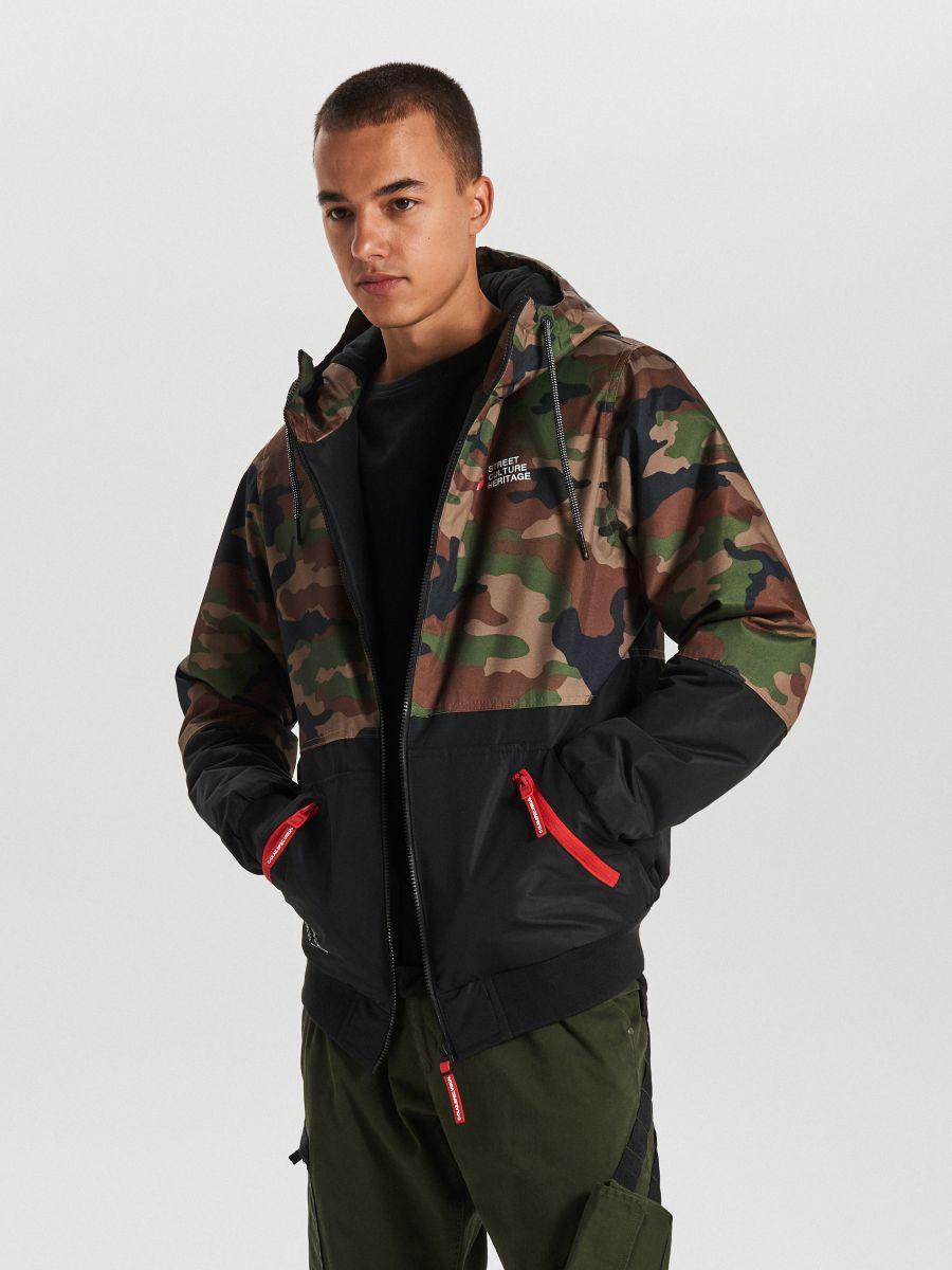 Куртка с капюшоном - хаки - VW266-87X - Cropp - 2