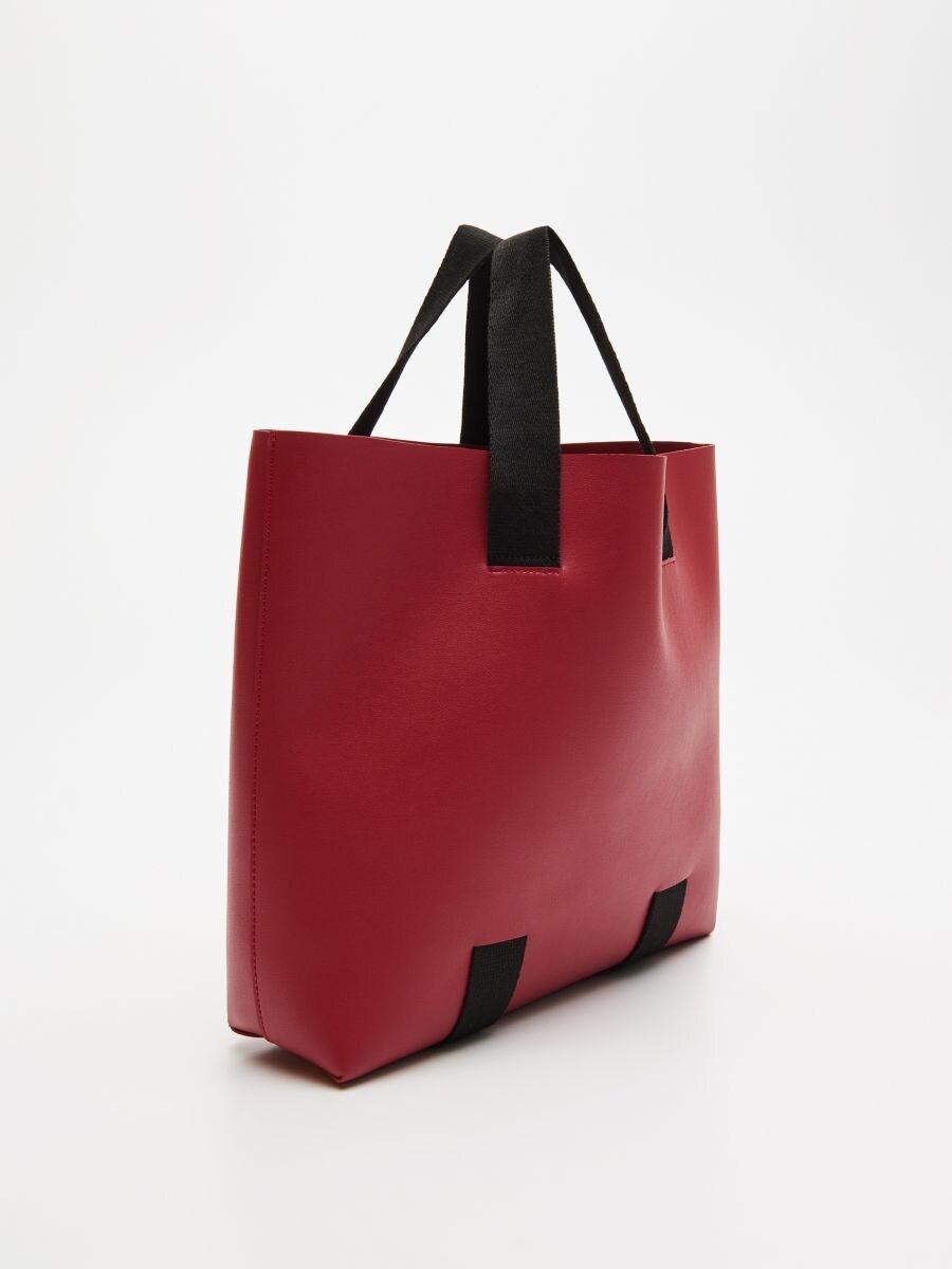 Сумка shopper - розовый - VY993-39X - Cropp - 2