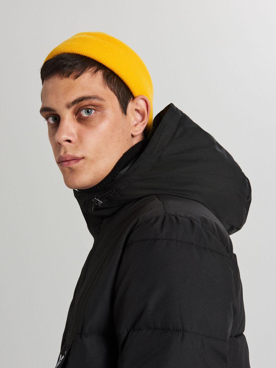 Теплый анорак с капюшоном - черный - WA092-99X - Cropp - 6